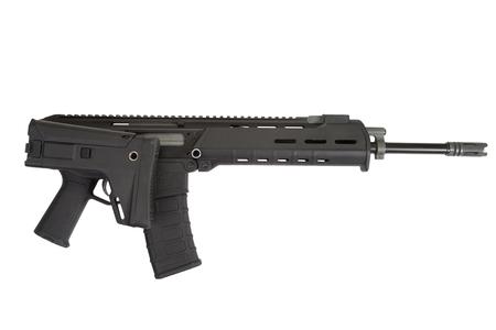 Fusil d'assaut moderne isolé Banque d'images