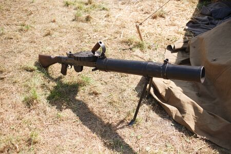First World War–era Lewis automatic light machine gun