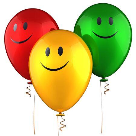 Happy helium balloons Stock Photo - 7653719