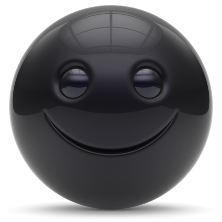 cheerful cartoon: Smiley face head ball cheerful sphere emoticon cartoon smiling happy decoration cute red. Smile funny joyful person laughing joy character toy good avatar. 3d render isolated