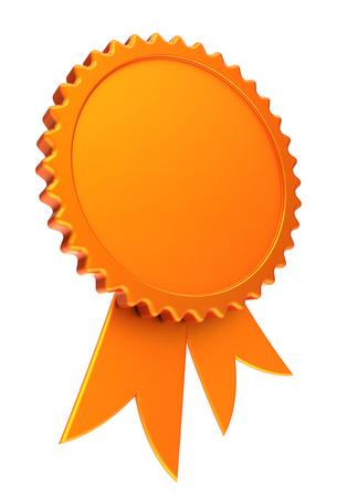 Award ribbon golden reward medal rosette blank achievement badge award ribbon golden reward medal rosette blank achievement badge winner best template design element yellow maxwellsz