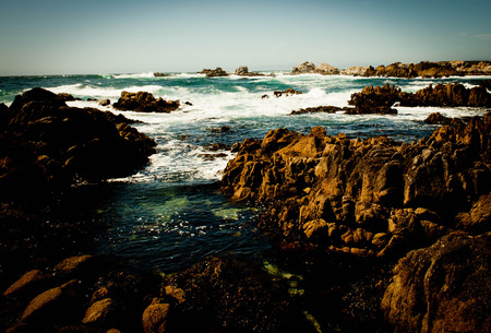 Rocky Coast Stockfoto
