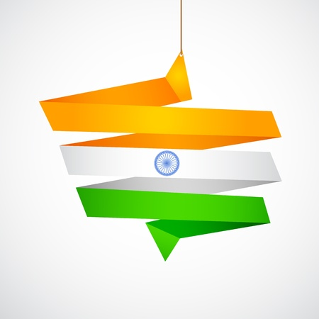 Tricolor Chat Bubble Vector