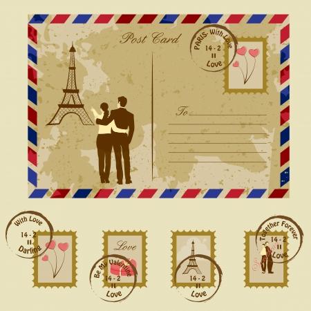 honeymoon couple: Love Letter