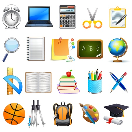 Education Object Stock Vector - 18627745
