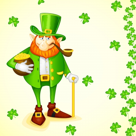 Laprachun for Saint Patrick s Day Vector