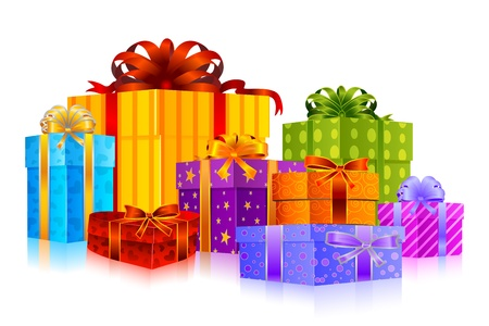 Colorful Gift Vector