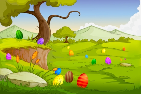 Easter Background Stock Vector - 18627870