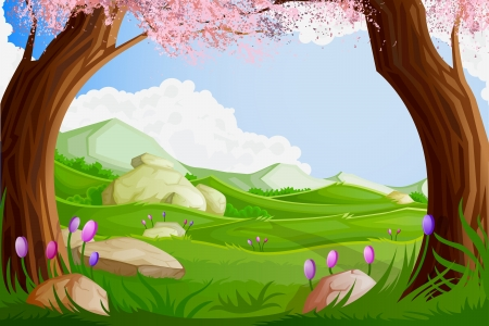 Scenic Beauty Vector
