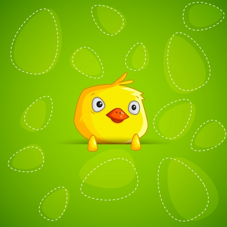 Easter Chick Stock Vector - 18627849