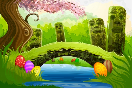 Easter Background Stock Vector - 18955678