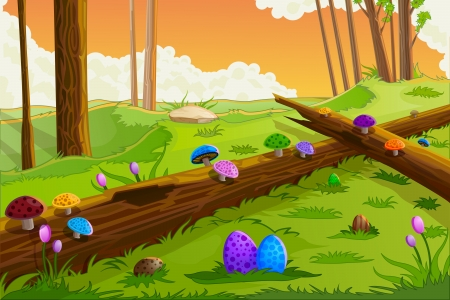 Easter Background Stock Vector - 18955597