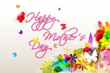 Floral Happy Mother s Day