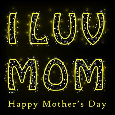 glitzy: Glittery Happy Mother s Day