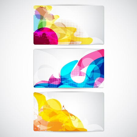 Abstract Background for Card Vector