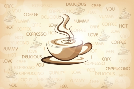 Design for Coffee House Vector