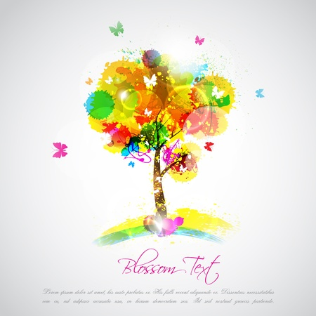 Abstract Tree Stock Vector - 19313318