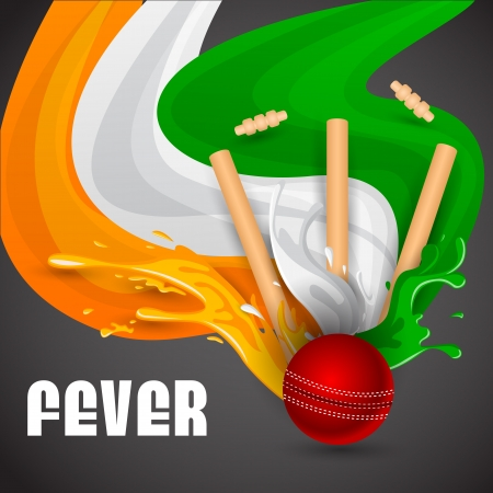 Cricket Match Vector