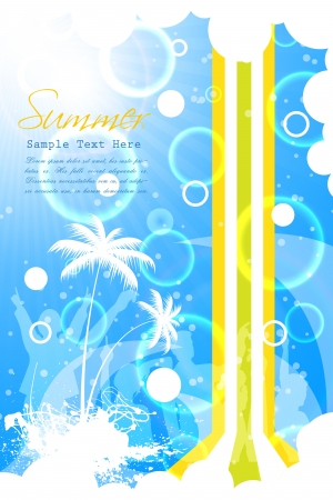 Summer Beach Party Vector