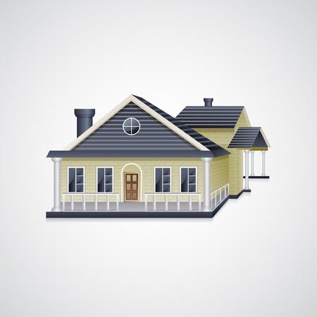 방갈로: 방갈로 하우스