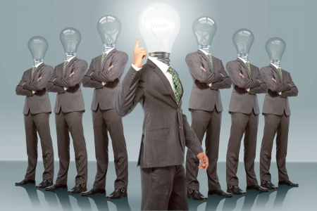 Business Team with Idea photo