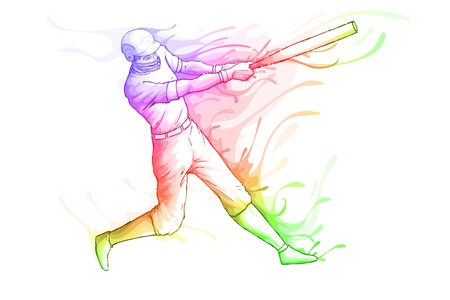 Baseball Player Stock Vector - 19902541