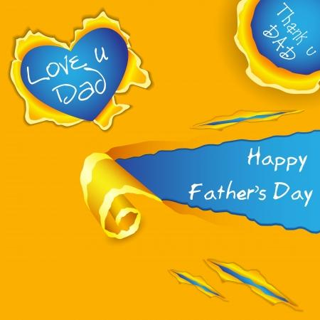 apa: Boldog Apák Napja Illusztráció