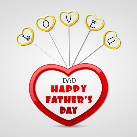 salutations: Love You Dad