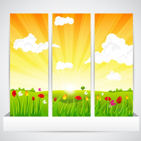 Beautiful Nature Stock Vector - 19903297