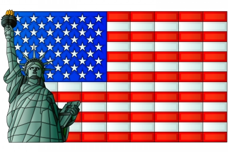 independance: Statue of Liberty Illustration