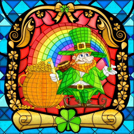 Leprachun for Saint Patrick s Day Vector