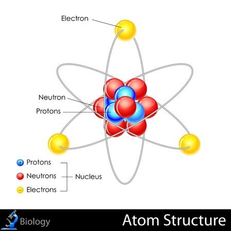 Structure Atom Banque d'images - 20842360