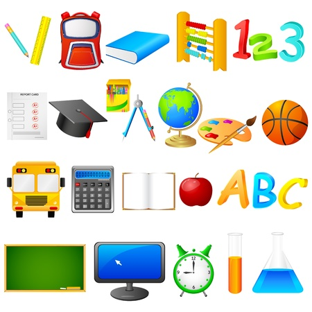 Education Object Stock Vector - 20850719