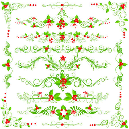 easy to edit vector illustration of Christmas decoration Vector