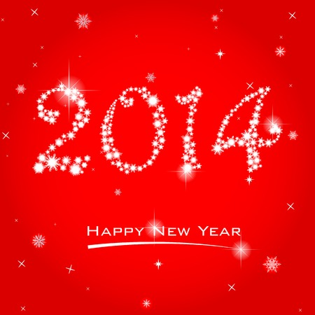 easy to edit vector illustration of Happy New Year Vector
