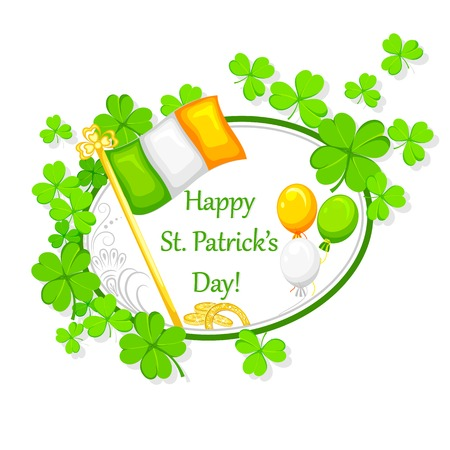easy to edit vector illustration of Saint Patrick's Day Stock Vector - 25664028