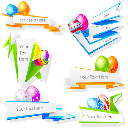 illustration of colorful Easter Egg Vector
