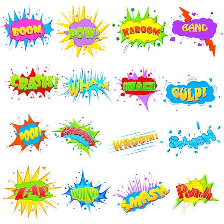 bursting: illustration of comic expression