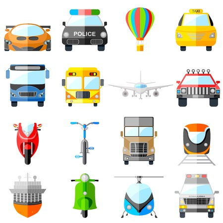 easy to edit vector illustration of transport icon Vector