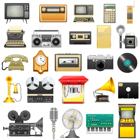 typewriter machine: Retro Electronics