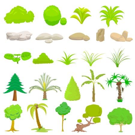 banana leaf: Tree Collection Illustration