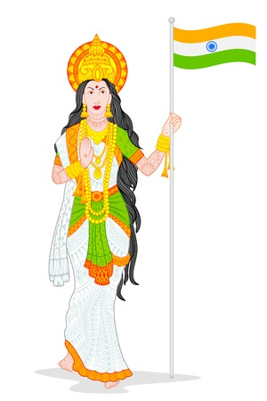 Mother India Vector