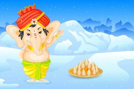Lord Ganesha Vector