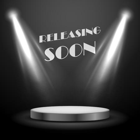 limelight: illustration of Realistic Spot Light Effect Releasing Soon Poster