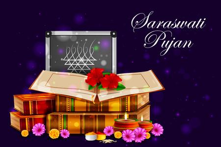 saraswati: Goddess Saraswati for Vasant Panchami Puja of India