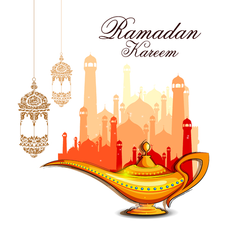 Ramadan Kareem background Vectores
