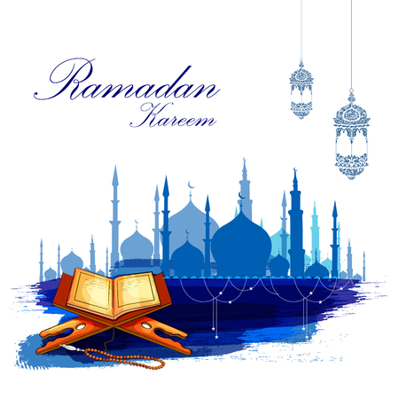 Ramadan Kareem background 矢量图像