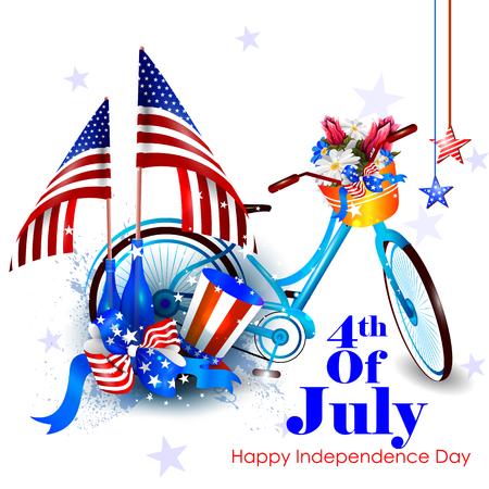 7 月 4 日、アメリカの独立記念日