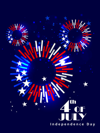 4th July, Independence day of America.