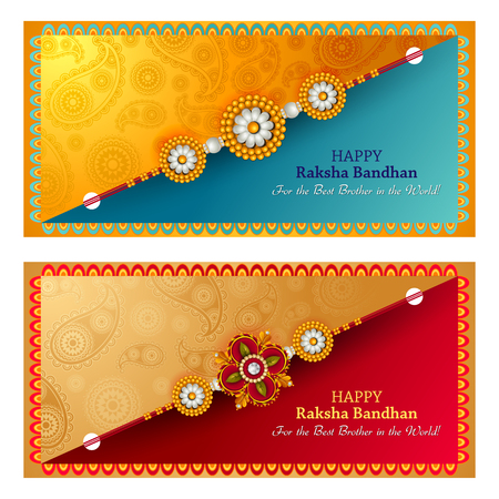 festive occasions: Rakhi background for Indian festival Raksha bandhan celebration